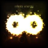 Infinite energy. Vector illustration (eps10 vector illustration