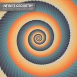 Infinite geometry. Fractal background Stock Photos