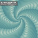 Infinite geometry. Fractal background Stock Photo