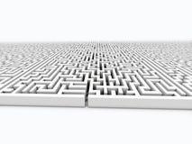 Infinite labyrinth Stock Photos