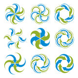 Infinite loop arrows  abstract symbol, graphic Royalty Free Stock Photography