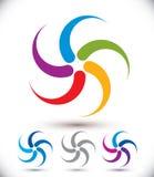 Infinite loop arrows vector abstract symbol, graphic design temp Stock Photos