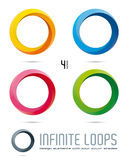 Infinite Loop Vector Design Elements Stock Photography
