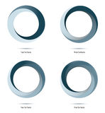Infinite Loop Vector Design Elements Stock Image