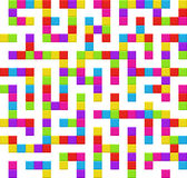 Infinite maze seamless background pattern Royalty Free Stock Images
