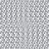 Infinite metal grid Stock Photo