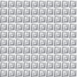 Infinite metal grid Royalty Free Stock Image