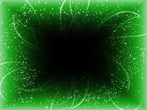 Infinite Perspective Green Background Royalty Free Stock Photography