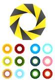 Infinite ribbon vector design logo template Stock Image