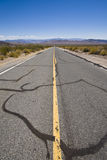Infinite Road. View over an infinite road in California, USA Royalty Free Stock Photography
