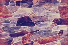 infinite seamless texture of cut stone in the background royalty free stock image