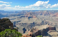 Infinite sky at Grand Canyon NP Royalty Free Stock Photography
