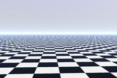 Infinite Tile Floor Royalty Free Stock Photography