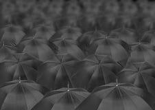 Infinite umbrellas Royalty Free Stock Photos