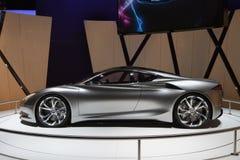Infiniti涌现概念-日内瓦汽车展示会2012年 免版税库存图片