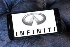 Infiniti car logo Royalty Free Stock Photos