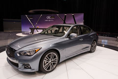 Infiniti at The Chicago Auto Show Stock Images