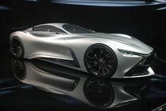Infiniti Concept sport car Stock Images