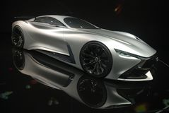 Infiniti Concept sport car Stock Photos