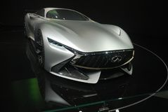 Infiniti Concept sport car. Chengdu Motor Show,China Stock Photography