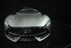 Infiniti Concept sport car Royalty Free Stock Photos