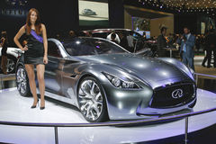 Infiniti Essence stock images