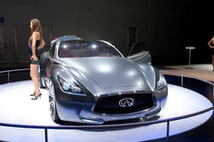 Infiniti Essence Concept car Royalty Free Stock Photography