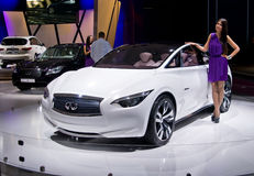 Infiniti Etherea Concept Stock Photo
