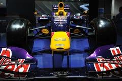 Infiniti f1赛车前面 库存图片