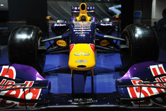 Infiniti f1 racing car front Stock Image