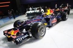 Infiniti f1 racing car. Infiniti Formula One racing Royalty Free Stock Images