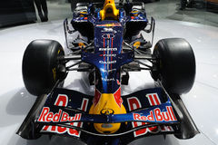 Infiniti f1 racing car front Royalty Free Stock Image