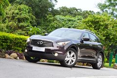 Infiniti FX37 SUV 2012 Stock Photos