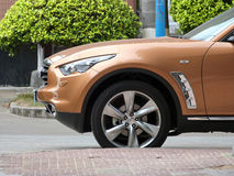 Infiniti fx35 Royalty Free Stock Photo