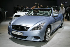 Infiniti G Cabrio Stock Photos