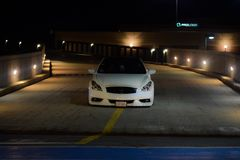 Infiniti g37s. Love for cars Royalty Free Stock Photography
