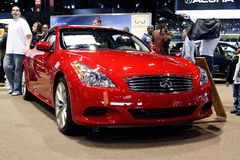Infiniti G37 Royalty Free Stock Photos