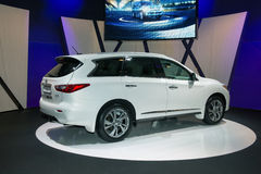 Infiniti JX - European premiere Royalty Free Stock Photography