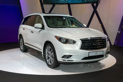 Infiniti JX - European premiere Stock Photo
