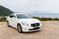 Infiniti M35h 2012 Royalty Free Stock Photography