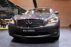 Infiniti M Hybrid Stock Photo