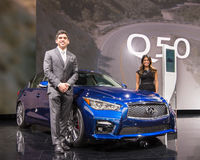 2017 Infiniti Q50 Royalty Free Stock Photo
