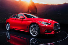 Infiniti Q60 in Geneva Stock Photo