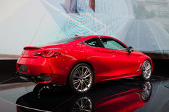 Infiniti Q60 in Geneva Royalty Free Stock Image