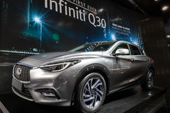 Infiniti Q30 at the IAA 2015 Royalty Free Stock Image