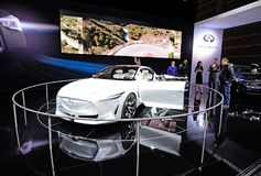 2019 Infiniti Q Inspiration Concept Car Stock Images
