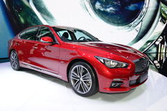 Infiniti Q50L saloon car Royalty Free Stock Photography