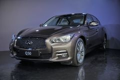 Infiniti Q50 Royalty Free Stock Images