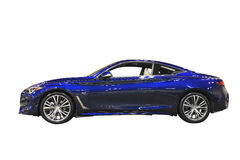 Infiniti Q60 Sports Car. Infiniti motor cars is the luxury vehicle division of Japanese automaker Nissan Royalty Free Stock Photography