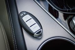 Infiniti Q50 2.0t Car Key Stock Images
